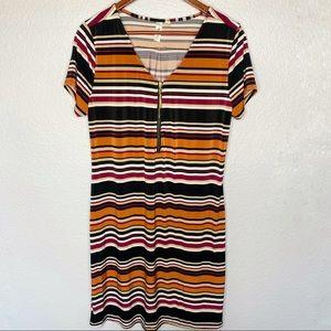 Tacera Striped Dress